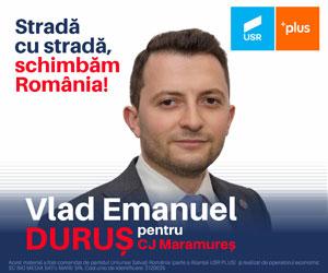 Vlad Emanuel Duru? - Pentru CJ Maramure?
