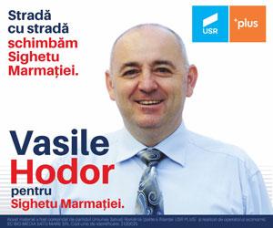 Hodor Vasile-Florin - Primar pentru Sighetu Marma?iei