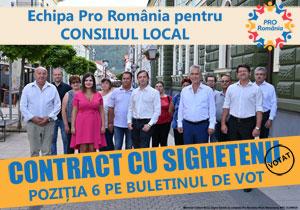 Echipa de consilieri Pro Romania Sighetu Marmatiei