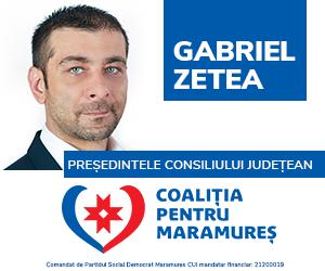 Gabriel Zetea - Pre?edintele Consiliului Jude?ean Maramure?