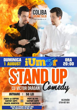 Stand-ul Comedy - Victor Dragan - Coliba Drumetului