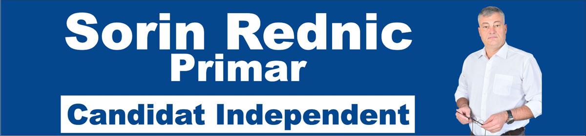 Sorin Rednic - Candidat independent Primaria Sighet