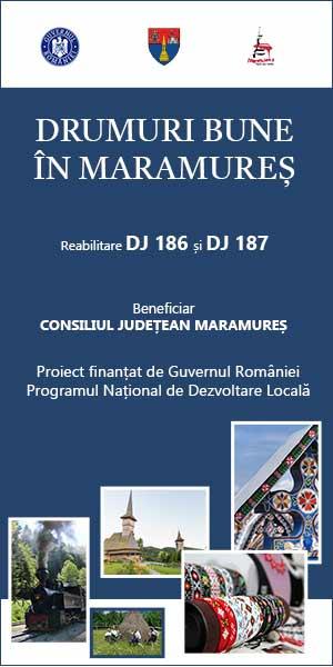 CJ Maramures - Drumuri bune in Maramures