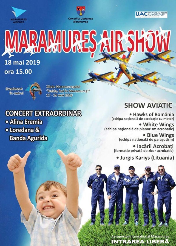 Maramureș Air Show 2019  - Alina Eremia și Loredana vor susține concerte pe Aeroportul Maramureș