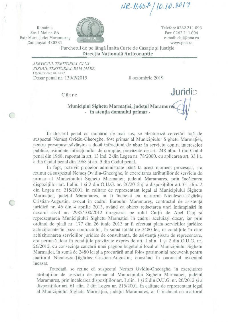 """""""AVOCAȚII 2"""" - Un nou dosar penal pe numele lui Ovidiu Nemeș instrumentat de DNA: Edilul a făcut plăți ilegale din bugetul local"""