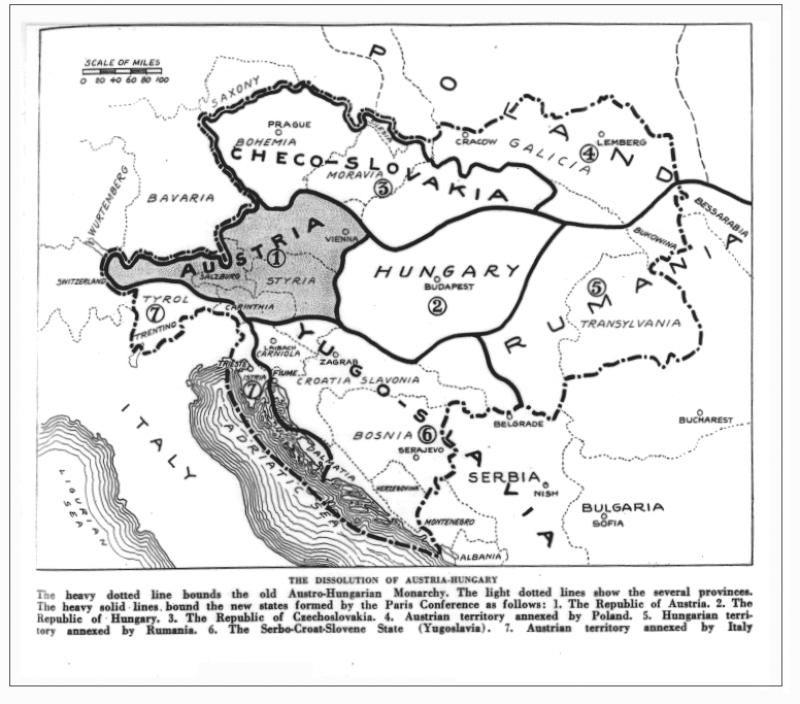 S-au împlinit 100 de ani de la semnarea Tratatului de la Trianon