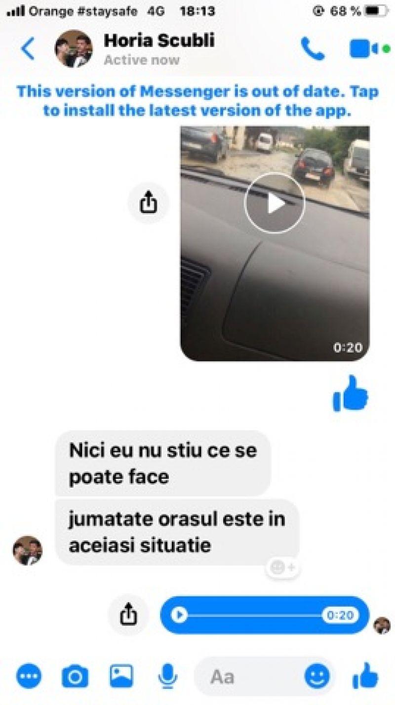 """SIGHET - Răspuns halucinant al primarului Horia Scubli când cetățenii i-au cerut disperați ajutorul autorităților: """"Credeți că eu am chemat furtuna?"""""""