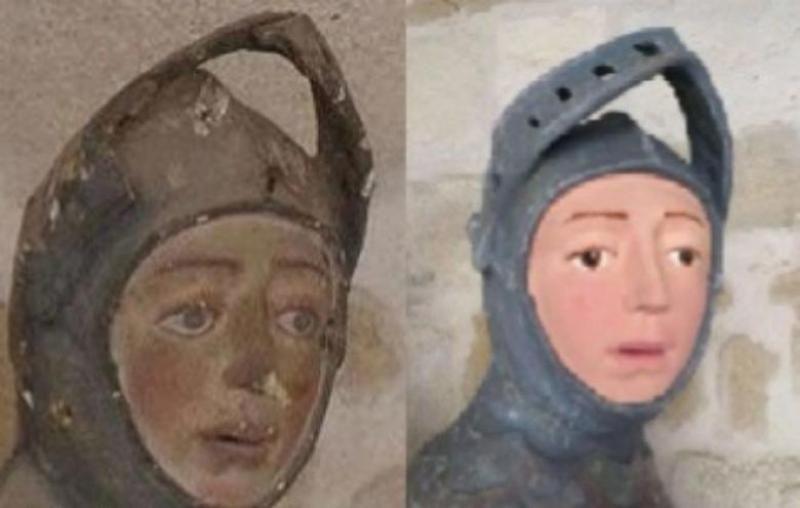 Spania - O nouă operă de artă a fost distrusă de o restaurare marcată de amatorism