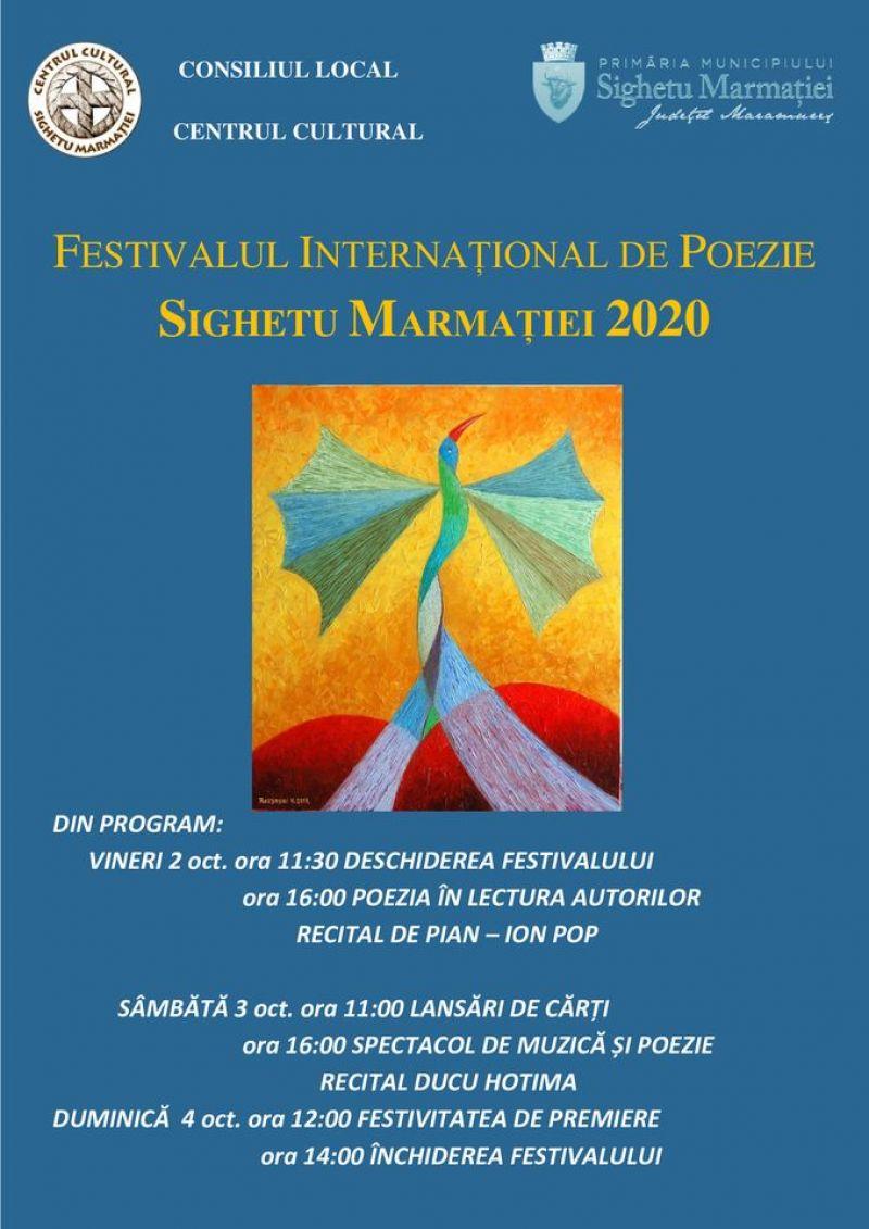 SIGHETU MARMAȚIEI - O nouă ediţie a Festivalului Internaţional de Poezie