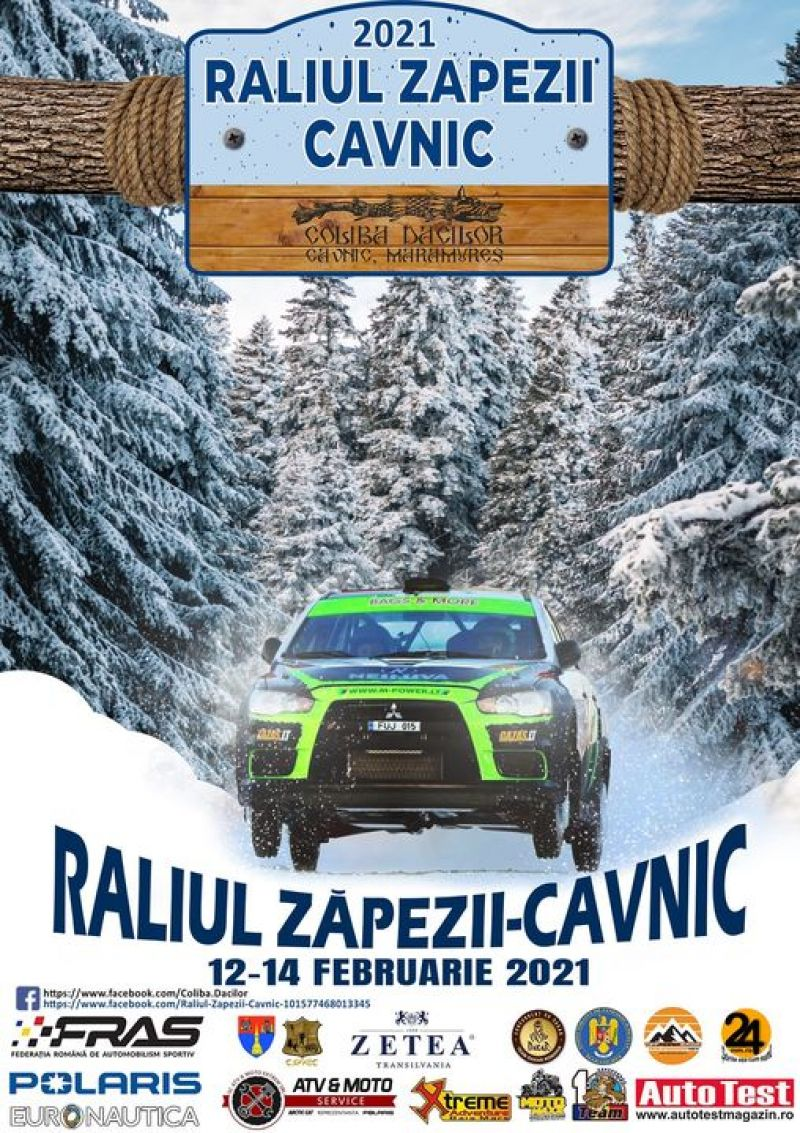 """Astăzi începe """"Raliul Zăpezii Cavnic"""""""