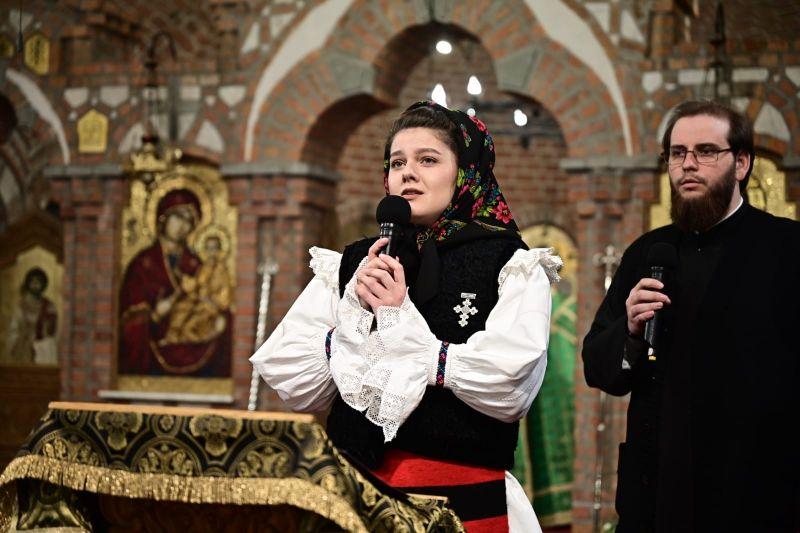 """Concert de pricesne în Duminica Floriilor la Catedrala Episcopală """"Sfânta Treime"""" din Baia Mare"""